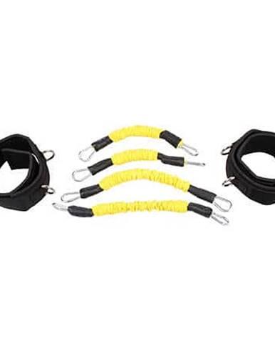 Leg Trainer Set odporové gumy sada žlutá