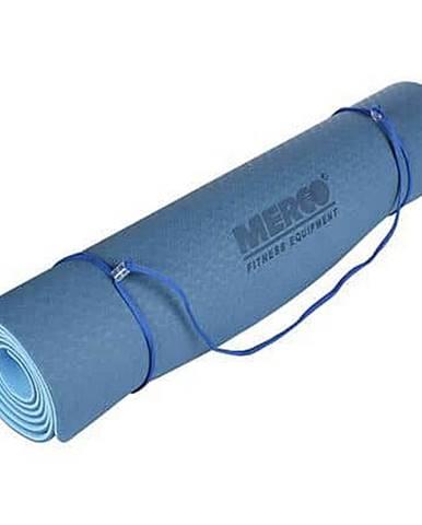 Yoga TPE 6 Double Mat podložka na cvičení modrá-modrá