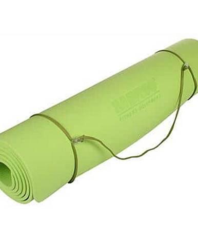 Yoga TPE 6 Mat podložka na cvičení limetková