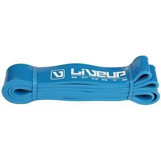 Aerobic guma posilovací guma 208 x 0,45 cm modrá Rozměr: S