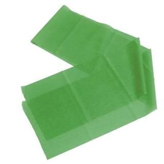 Latex aerobic guma 1200x150x0,35 mm RŮŽOVÁ - Zelená