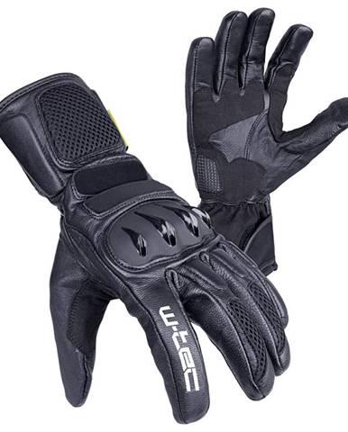 Moto rukavice W-TEC Talhof Farba čierna, Veľkosť XXL