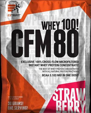 Extrifit CFM Instant Whey 80 20 x 30 g strawberry