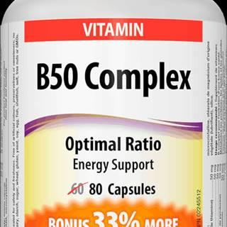 Webber naturals B50 Complex 80 tablet