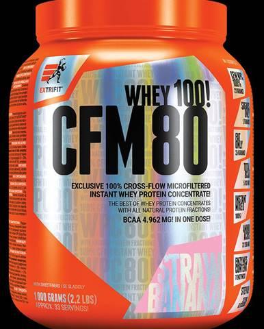 Extrifit CFM Instant Whey 80 1000 g strawberry banana