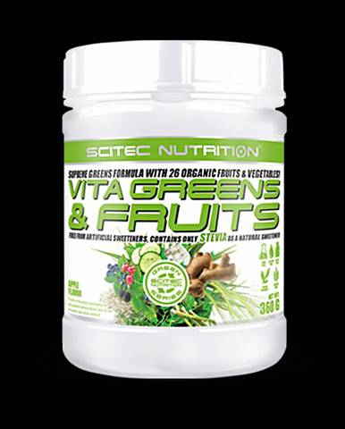 Scitec Nutrition Vita Greens and Fruits 360 g apple