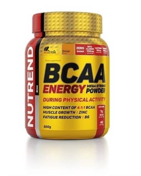 Nutrend BCAA Energy Mega Strong Powder - Nutrend 20 x 12,5 g Orange