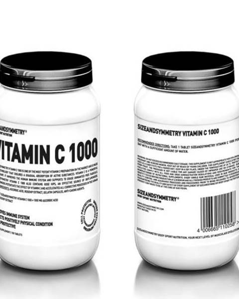 Sizeandsymmetry SizeAndSymmetry Vitamín C 1000 100 tabliet 100tbl