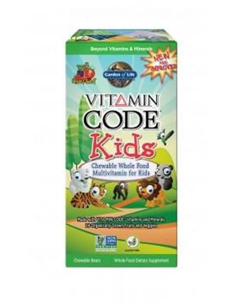 Garden of life Vitamin Code Kids 60 kapsúl