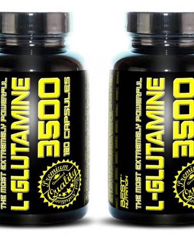 1+1 Zadarmo: L-Glutamine od Best Nutrition 120 kaps. + 120 kaps.