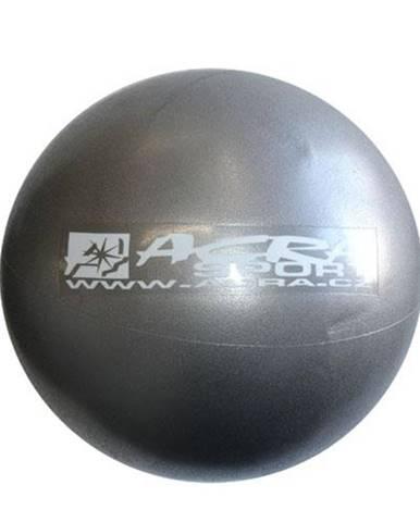 ACRA Míč OVERBALL 30 cm, stříbrný