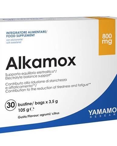 Alkamox (draslík a horčík v citrátovej forme) - Yamamoto 30 bags x 3,5 g