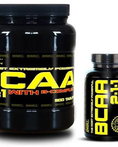 BCAA 5000 + BCAA 2:1:1 Zadarmo od Best Nutrition 250 tbl. + 120 kaps.