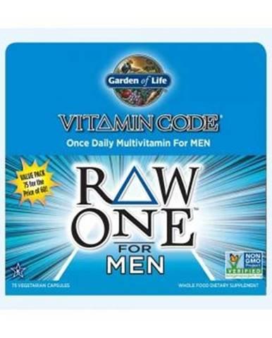 Garden of Life Vitamin Code RAW ONE - Pro muže 75 kapslí