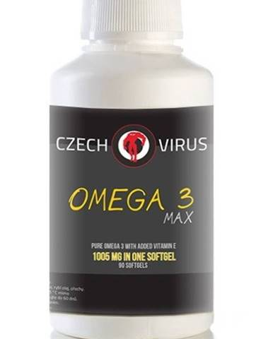 Omega 3 Max - Czech Virus 90 softgels
