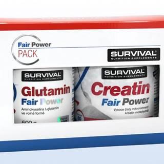 Glutamin Fair Power + Creatin Fair Power 1 pack