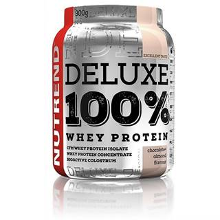 Nutrend Deluxe 100 % Whey 900g Čoko-mandle