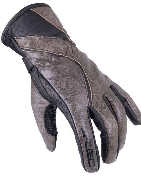 W-Tec Dámske moto rukavice W-TEC Sheyla GID-16035 hnedá - XS