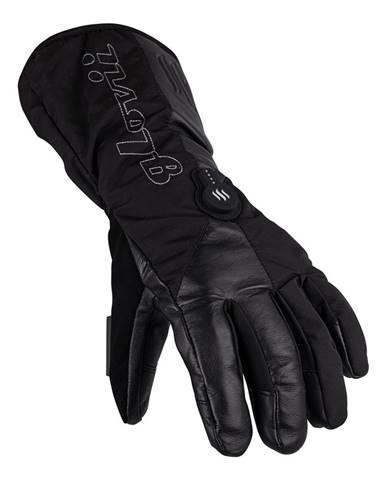 Vyhrievané lyžiarske a moto rukavice Glovii GS9 čierna - S