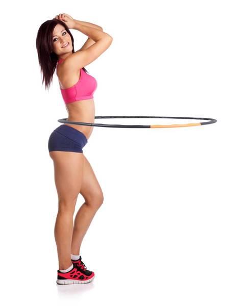 Insportline Obruč inSPORTline Weight Hoop 105 cm