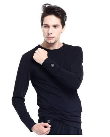 Vyhrievané tričko s dlhým rukávom Glovii GJ1 čierna - S
