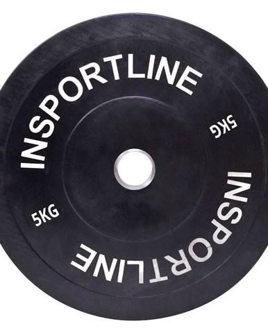 Gumový kotúč inSPORTline Bumper Plate 5 kg