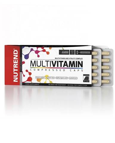 Vitamíny Nutrend Multivitamin Compressed Caps 60 kapsúl