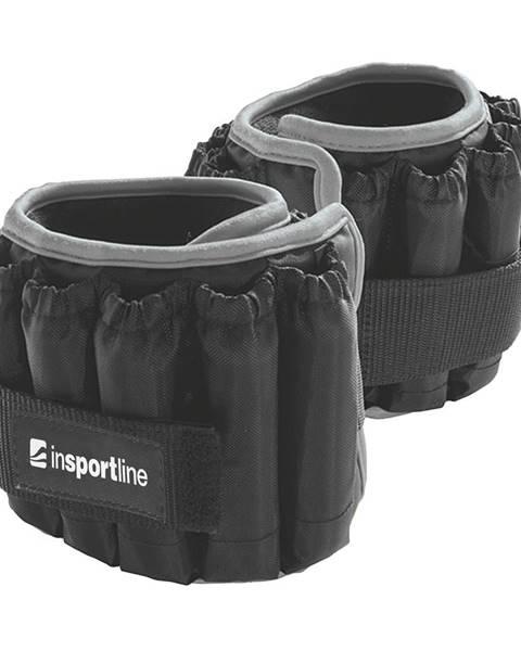 Insportline Nastaviteľné členkové závažia inSPORTline Ankler X 2x2,25 kg