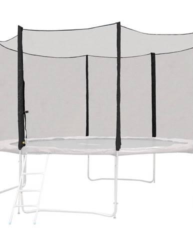Ochranná sieť pre trampolínu inSPORTline Froggy PRO 366 cm čierna