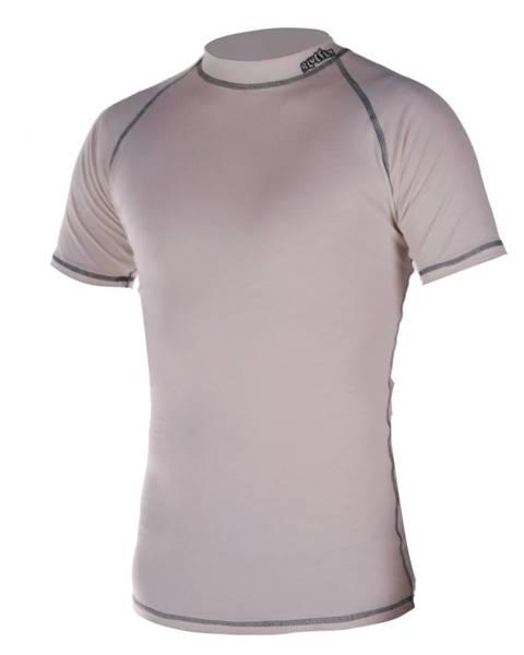 Blue Fly Termo tričko krátky rukáv Blue Fly Termo Pro béžová - XS