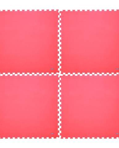 Fitness podložka inSPORTline EVA40 200x200x1 cm červená