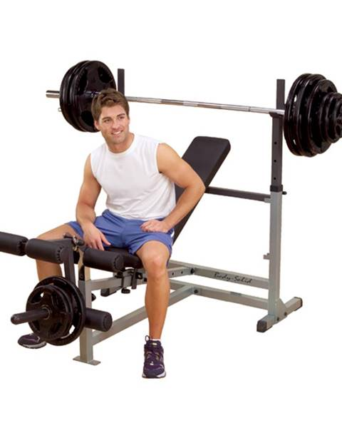 Body-Solid GDIB46L Body-Solid Bench press lavica - Záruka 10 rokov