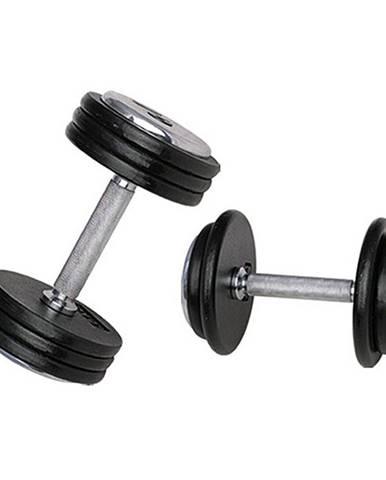 Jednoručná činka inSPORTline ProfiST 15 kg