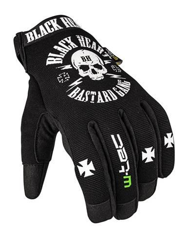 Moto rukavice W-TEC Black Heart Radegester čierna - S