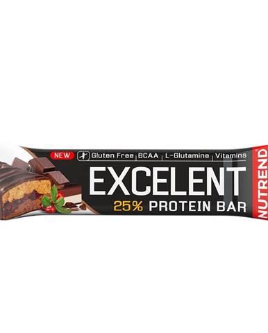 Proteínová tyčinka Nutrend Excelent Bar Double, 85 g citron+tvaroh+malina s brusnicami
