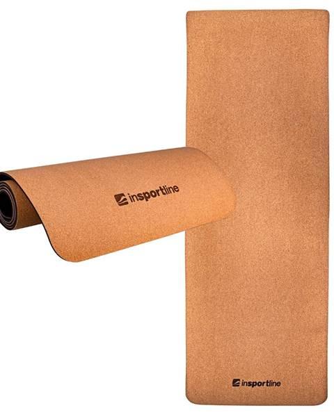 Insportline Podložka na cvičenie inSPORTline Corkam 173x61x0,6 cm