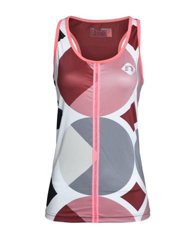 Dámske bežecké tričko Newline Imotion - bez rukávov ružovo-šedá - S