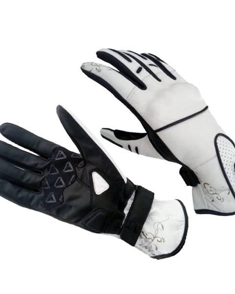 Spark Dámske moto rukavice Spark Lady Nella biela - XL