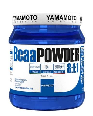 Yamamoto BCAA Powder 8:1:1 Hmotnost: 300g, Příchutě: Pomeranč