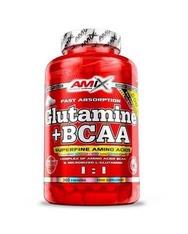 Amix L-Glutamine + BCAA - cps
