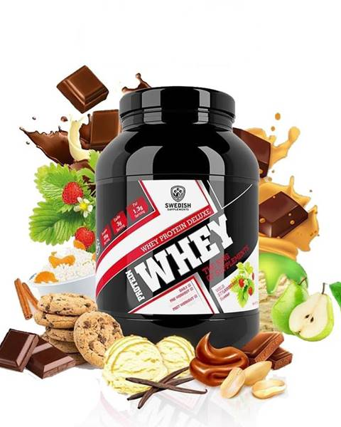 Swedish Supplements Whey Protein Deluxe - Swedish Supplements 1000 g  Heavenly Rich Chocolate