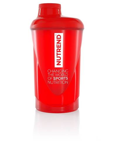 Shaker Nutrend 2019 600 ml červená
