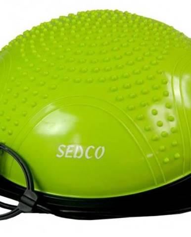 Balanční podložka SEDCO CX-GB154 58 cm balance ball s madly - Zelená