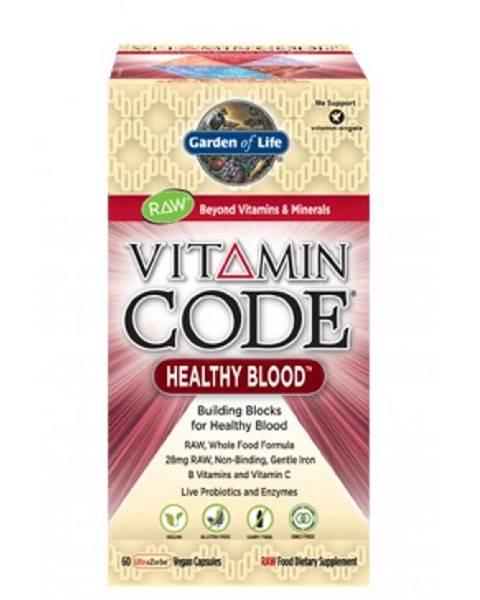 Garden of life Garden of Life Vitamín Healthy Blood RAW 60 kapslí