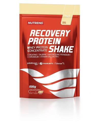 Proteínový koncentrát Nutrend Recovery Protein Shake 500g vanilka