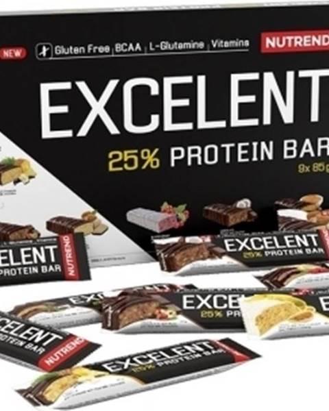Nutrend Nutrend Excelent Protein Bar darčekové balenie 9×85 g