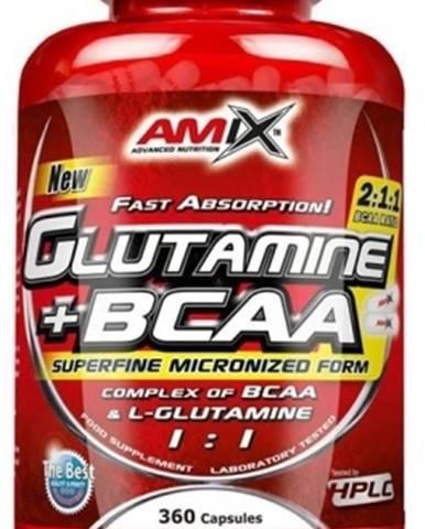Amix L-Glutamine + BCAA 360 kapsúl