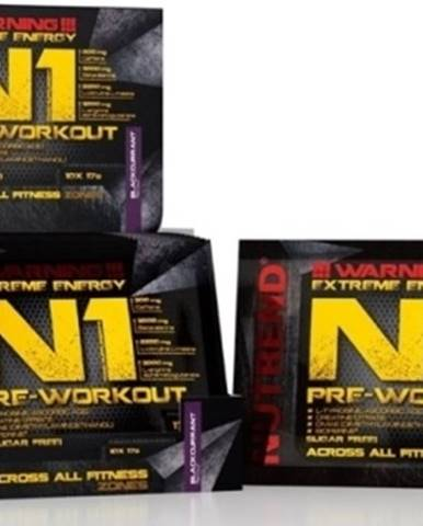 Nutrend N1 Pre-Workout 17 g variant: grep