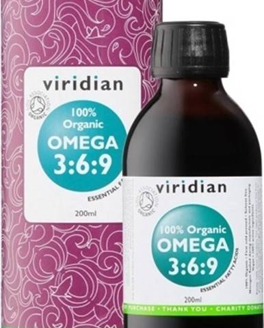 Viridian 100 % Organic Omega 3:6:9 200 ml