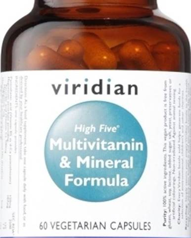 Viridian High Five Multivitamín&Mineral Formula 60 kapsúl